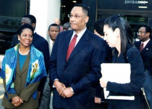 U.S. Representative Sheila Jackson Lee and Lee P. Brown, former Mayor, Houston, Texas