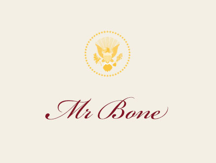 Mr. Bone Place Card